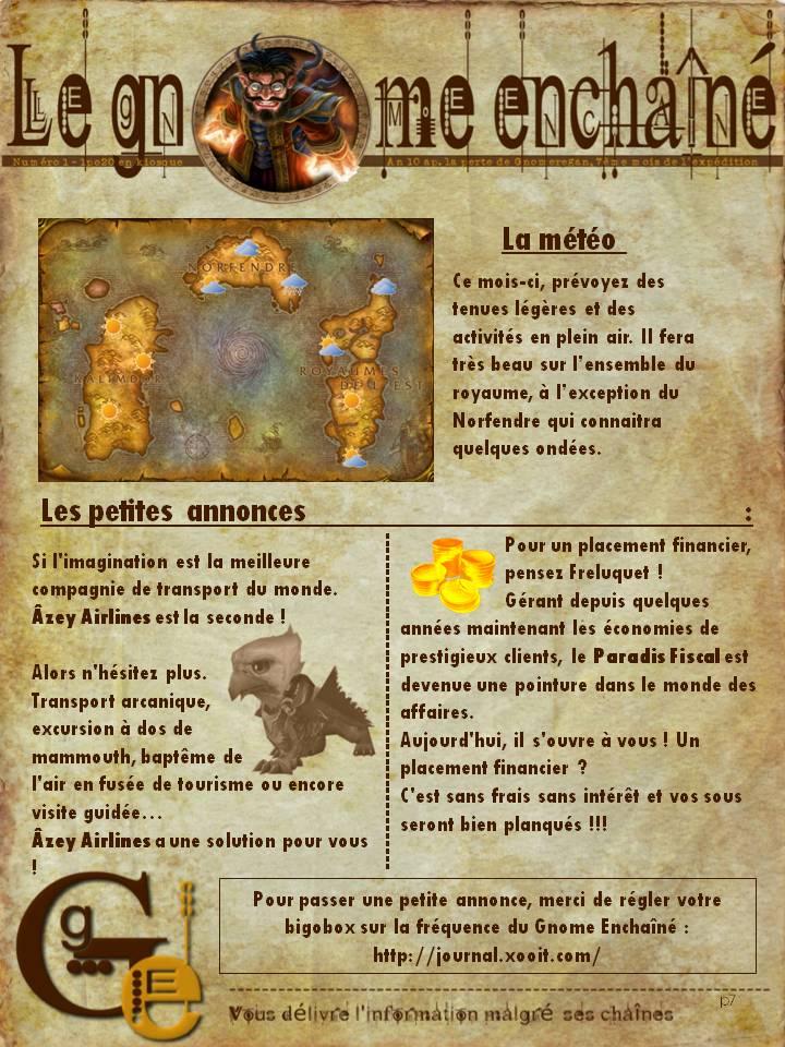 Le Gnome Enchaîné  -  Numéro 1 Diapositive11