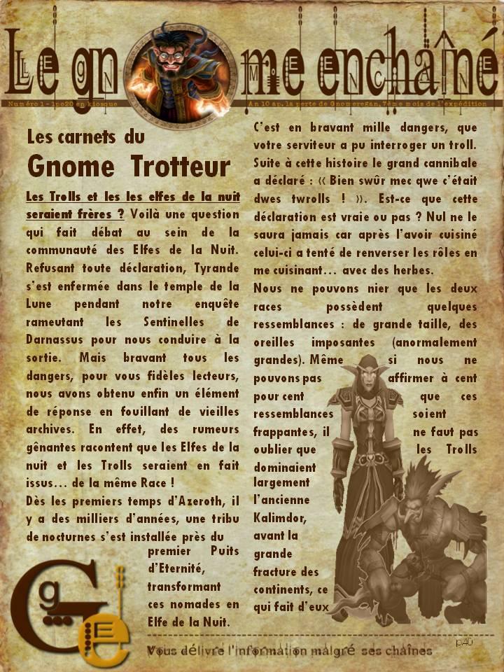 Le Gnome Enchaîné  -  Numéro 1 Diapositive4
