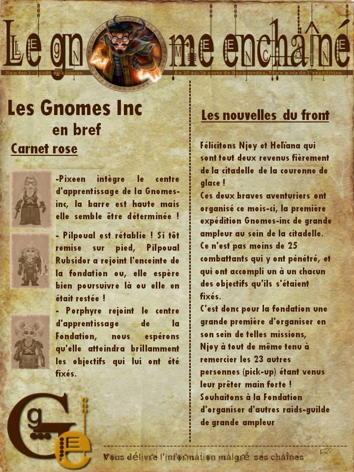 Le Gnome Enchaîné  -  Numéro 1 Diapositive9